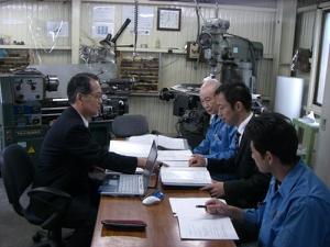 第4回定期審査風景(2006/11)